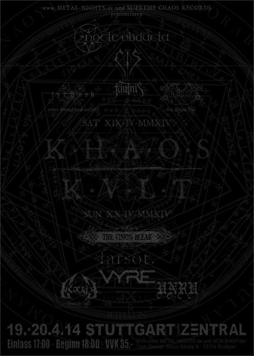 KHAOS KVLT 2014