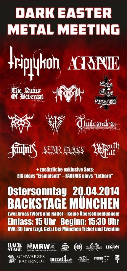 Dark Easter Metal Meeting 2014